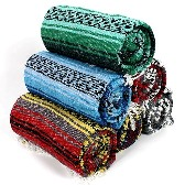 Traditional Kakaos Yoga Blankets