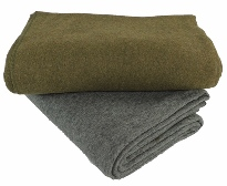 Deluxe Wool Yoga Blanket (80% Wool)